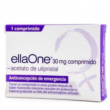 ELLAONE 30 mg 1 COMPRIMIDO RECUBIERTO