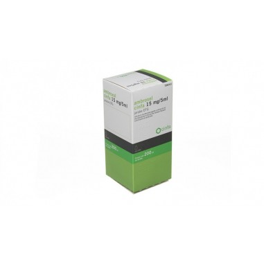 AMBROXOL CINFA EFG 15 mg/5 ml JARABE...