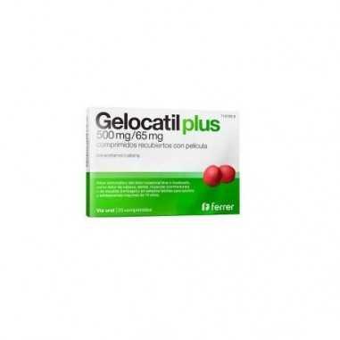 GELOCATIL PLUS 500 mg/65 mg 20...