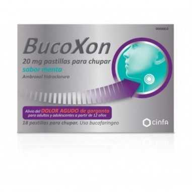 BUCOXON 20 MG 18 PASTILLAS PARA...