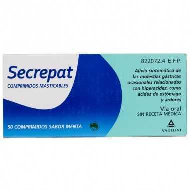 SECREPAT 50 COMPRIMIDOS MASTICABLES...