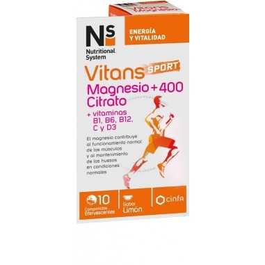NS VITANS MAGNESIO CITRATO +400 10...