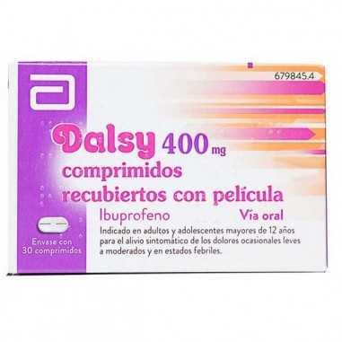 DALSY 400 MG 30 COMPRIMIDOS RECUBIERTOS